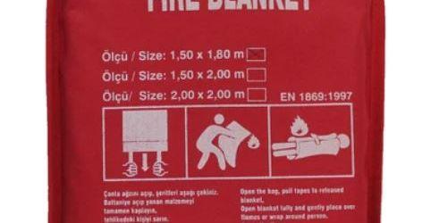Yangın & Kaynak Battaniyeleri